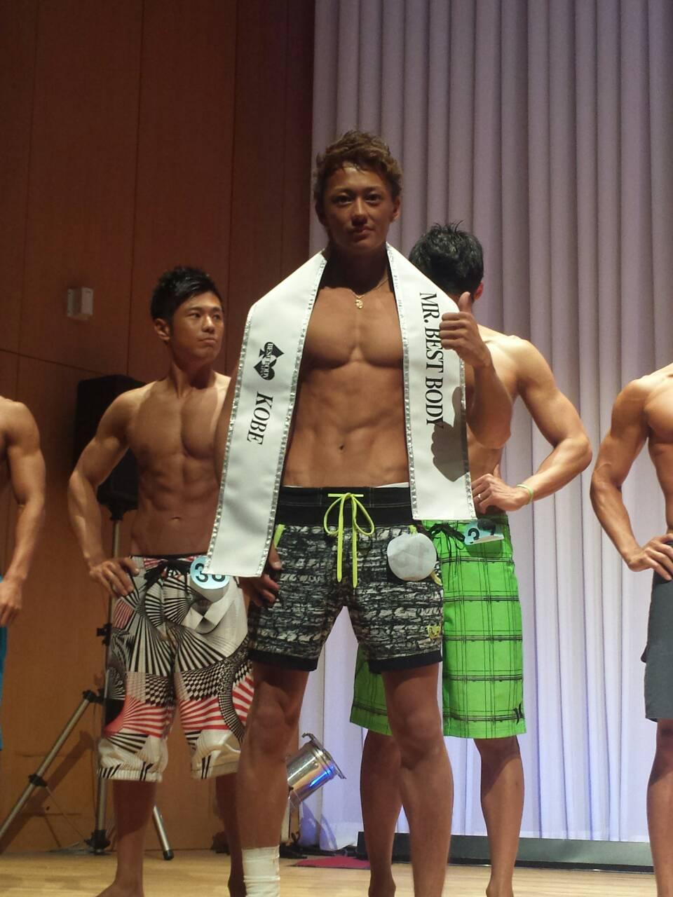 ベストボディ・ジャパン江川隼平選手