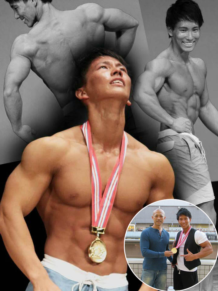 第2回オールジャパン・メンズフィジーク選手権大会 172㎝以下級優勝 横川尚隆選手